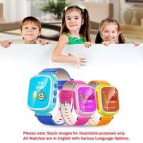 New Colour Screen GPS Kids Tracker Watch with Call