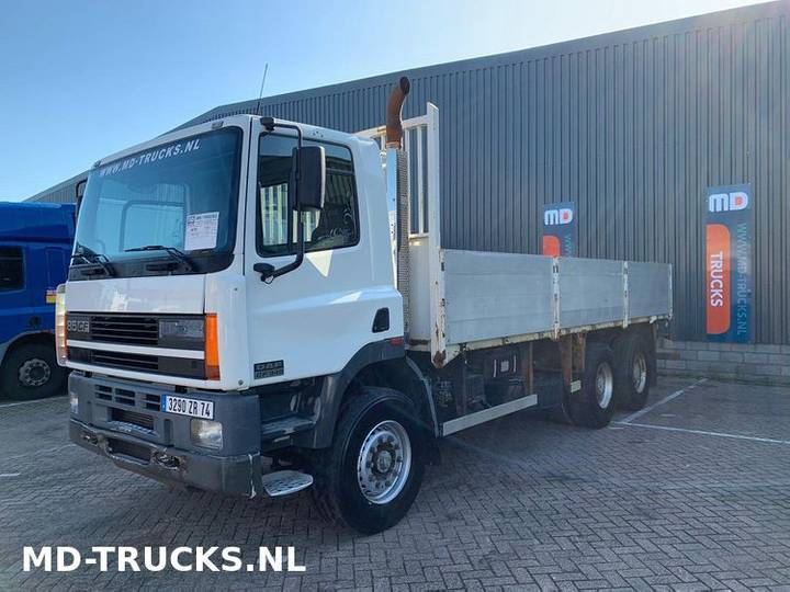 DAF CF 85 340 manual 6x4 steel euro 2 - 1999