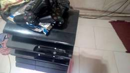Ps4 ps3 slim and super slim all hacked with pads but ps4 cums with Cd