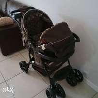 Chelino Travel set Pram and Carseat