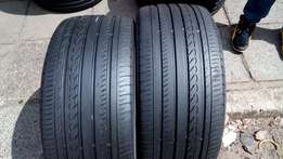2 X 245/40/18 tyres for sell