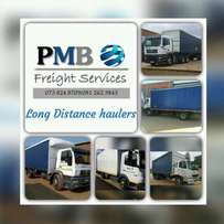 Trucks for hire: PMB Freight Services