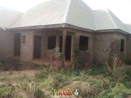 Uncompleted 4 b/room flat at angwan maigero at N3.2m