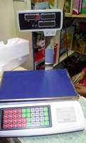 New Butchery Digital Price Computing scale with printer.