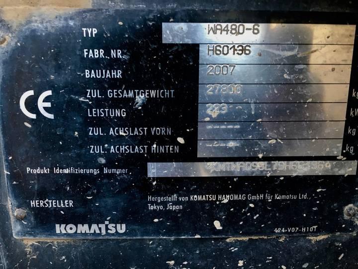 Komatsu Wa480-6 - 2007 - image 8