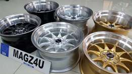 Magz 4 u wheel & tyre experts...a variety of wheels in store...
