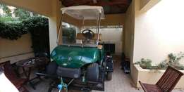 Golf cart on brand new trailer for sale - R55 000,00 cash