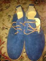 Brand new leather shoes