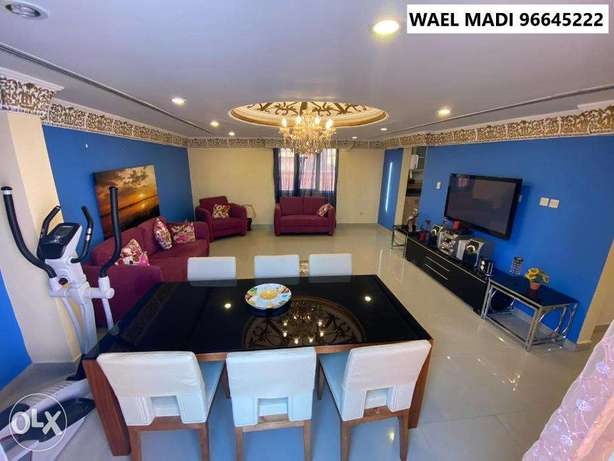 Amazing 1 Bedroom with Balcony and Partial Sea View in Mangaf المنقف -  3