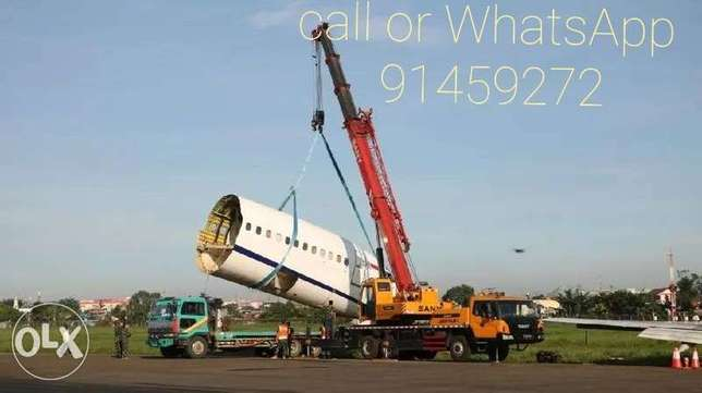 Available crane for rent from 25 ton to 220 ton