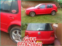 Golf 4 in perfect condition