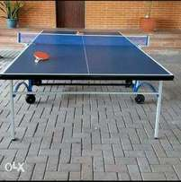 Outdoor table tennis board