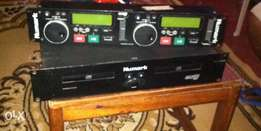 NuMark Dj CD player