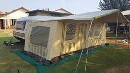 1984 Gypsey Caravette 6 with Full and Rally tents as new