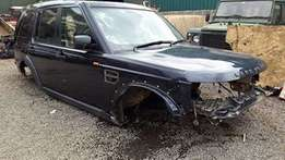 Land Rover Discovery 3 Body Sheel TDv6 2.7 Diesel Complete bumper wing