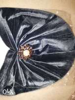 Women's head turbans with brooch/ some without brooch