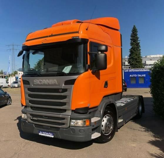 Scania R450LA4X2MNA Standklima/ Diesel + LPG - 2014