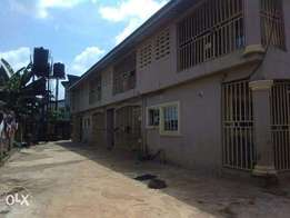8 Units of 1 Bedroom Block of Flats for Sale at Asaba