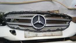 w205 grille