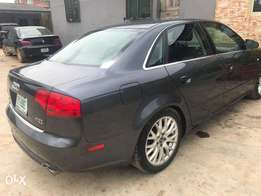 A first body n neatly used 2008 Audi A4, leather, v4, ac, 6cd display.
