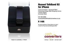 Hauwei Talkband B2 for iPhone