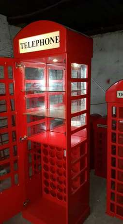 Red Telephone Booth display units Frankfort - image 3