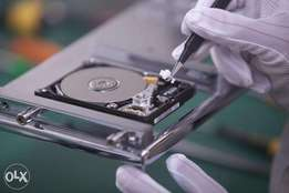 Data recovery due to virus / dropping of hard disk at 500/= per TB
