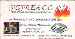 We specialize in service and repairs of air-conditioner