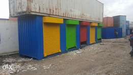 Container shops, offices and Homes.