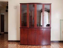 Magnificent Rare Double Stacked Cabinet/Wall Unit