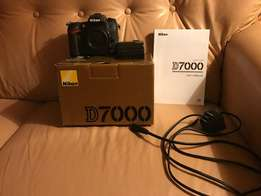 Nikon D7000 body in mint condition.