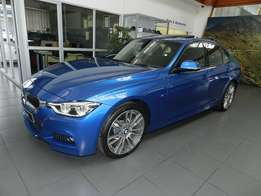 BMW 318i auto M-Sport 2017 model with 121 km on