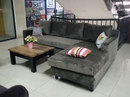 L shaped sofa new