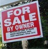 30 Plots of Land with C of O for sale at Trans Amadi