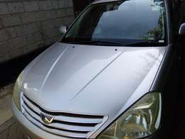 Toyota Allion on quick sale in mint condition