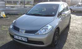 Nissan Tilda 1.6 Colour Gold Model 2012 5 Door Factory A/C & CD Player