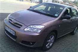 Toyota Runx 1.4 RT 5Doors 2007 Model Factory A/C C/D
