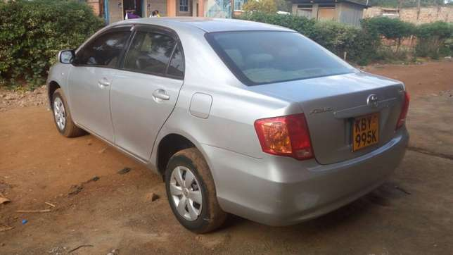 Toyota Axio 2007 KBY 995K (let me know if you spot it) Sagana - image 5