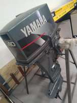 2 x 40 hp long shaft Yamaha motors