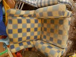 2 X Arm rest chairs. Needs tlc