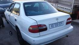 2000 Toyota Corolla 1.6 GLE (Already stripped - Spares in stock)