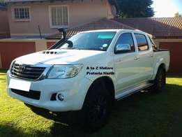 2013 Toyota Hilux 3.0 D4D 4x4 Raider AT with the following km's 100919