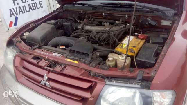 Neat 2002 Mitsubishi Montero For Giveaway Port Harcourt - image 8