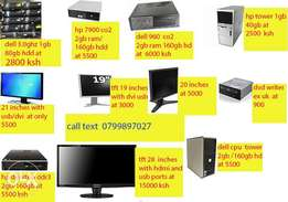 cpu on offer 3.0ghz/1gb ram/80gb hdd at 2800 only dell