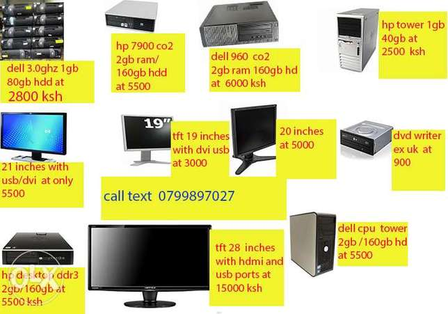cpu on offer 3.0ghz/1gb ram/80gb hdd at 2800 only dell Nairobi CBD - image 1