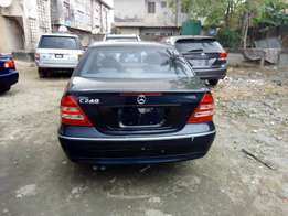 Tokunbo Mercedes Benz C240 for sale accident free