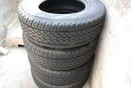 Set of 245/70/16 Continental Worldcontact Tyres