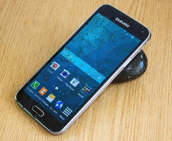 Slightly used samsung S5 BuruBuru - image 1