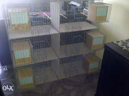 6 in 1 Wire Mesh Breeding Cages For sale!!!
