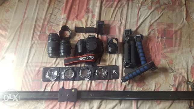 Canon EOS 7d and accessories Abuja - image 1
